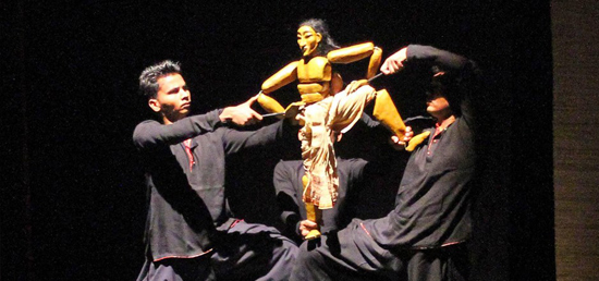 "Performance by Indian Puppet Group ""Katkatha\"" in Serbia"