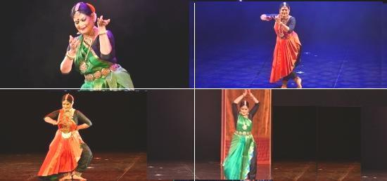Bharatnatyam dance performance by Ms. Geeta Chandran in Belgrade as part of the celebrations of 70 Years of India's Independence