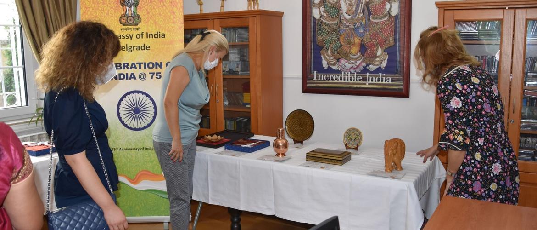 Exhibition of Indian Handicrafts