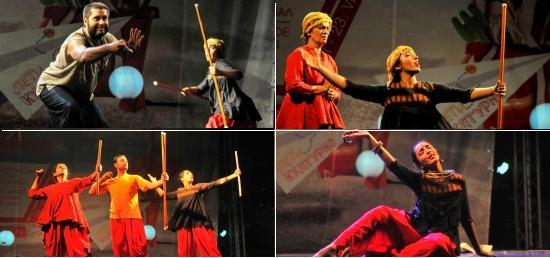 Performance of Dance – Drama ''Where the Shadow Ends''