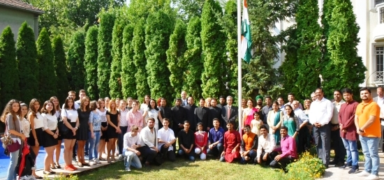 Celebration of India's Independence Day (15. August 2017)