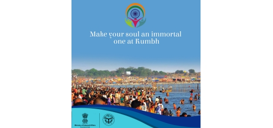 Kumbh Mela calls all Indians Beyond India. 